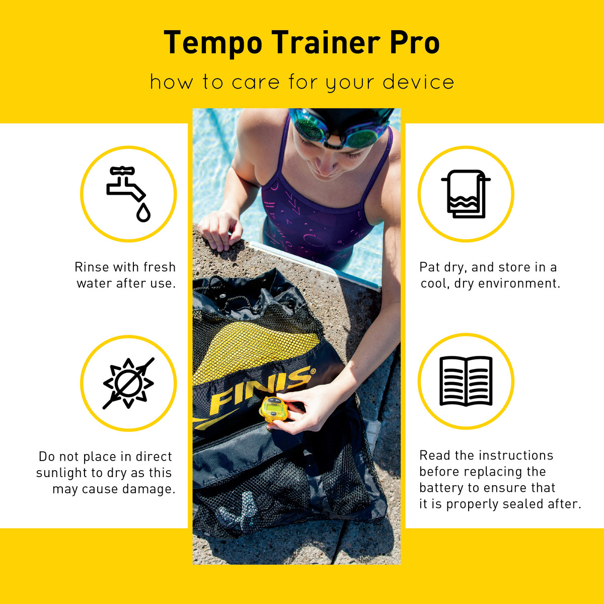 Finis simplify it! | tempo trainer pro modes and how to switch.