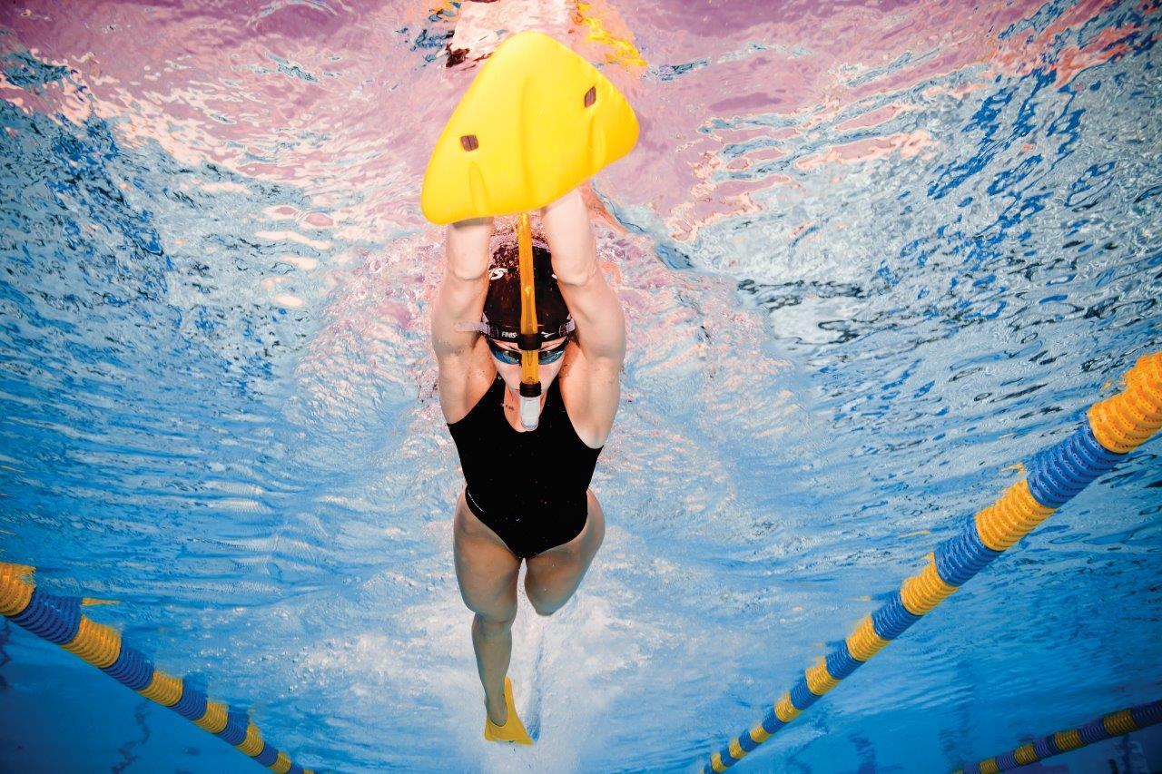 Alignment Kickboard Improves Body Position Finis Sa