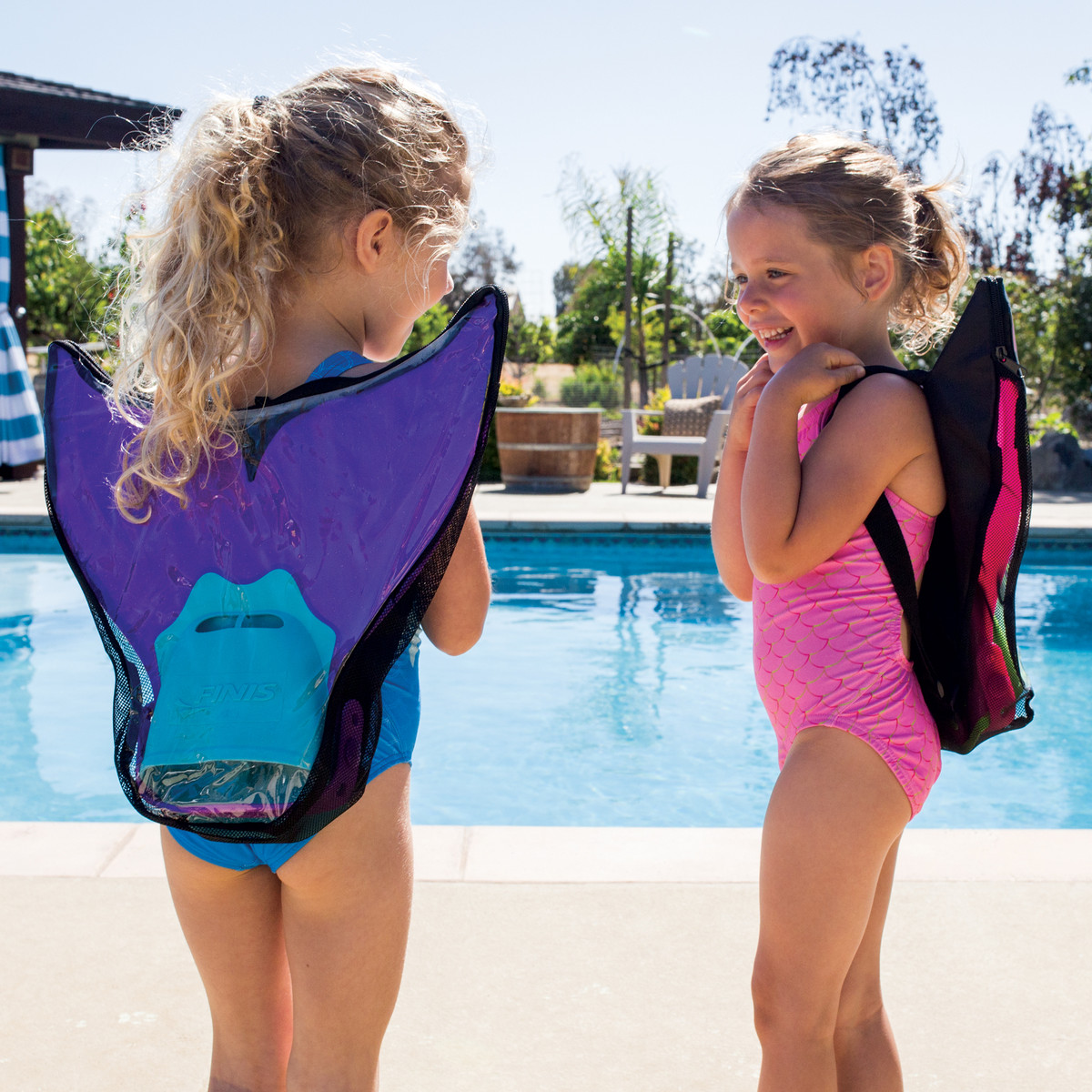 The Mermaid Fin Instantly Transforms Any Swimmer Into A Mermaid