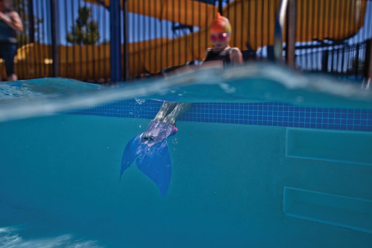 Mermaid Fin Is A Fun Monofin Pool Toy Finis Sa