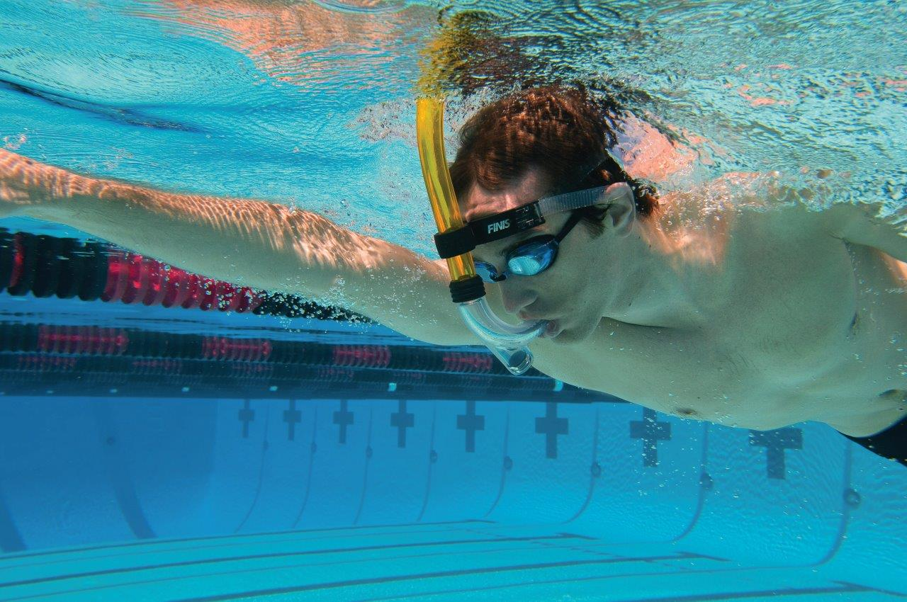 Swimmer S Snorkel Allows Swimmers To Focus On Stroke