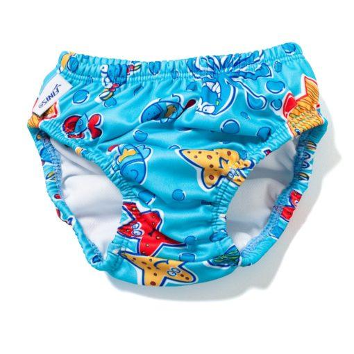 FINIS Swim Diaper Blue Octopus