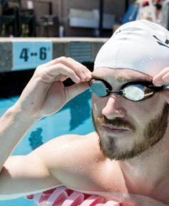 FINIS Strike Goggles Silver Mirror