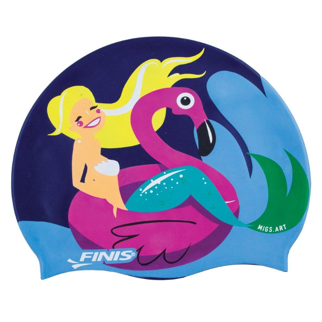 1dc31b5f0 Dive into an underwater adventure with the Mermaid Silicone Cap ...