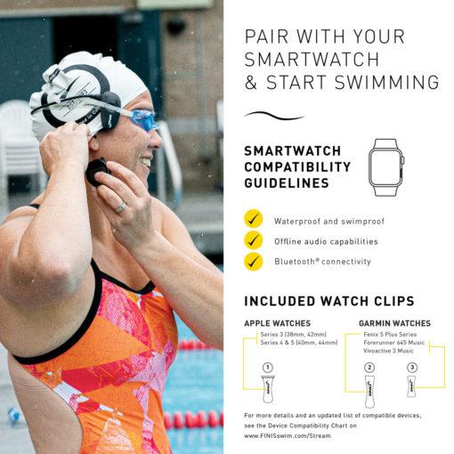Bluetooth® Swim Headphones